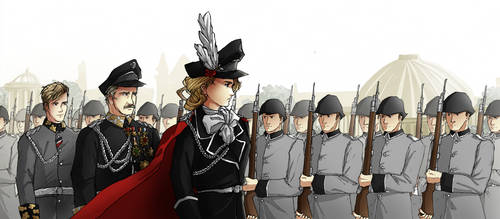 Military Parade Concept Art by HyliaBeilschmidt