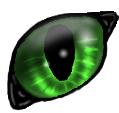 Cat eye attempt by StartheFox101