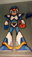 Mega Man X Perler by mecharichter