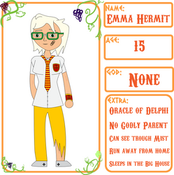 The Oracle - Camp Halfblood App by AskEnglishPrince