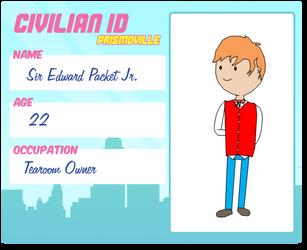 Prismoville: Sir Edward Packet Jr. by AskEnglishPrince