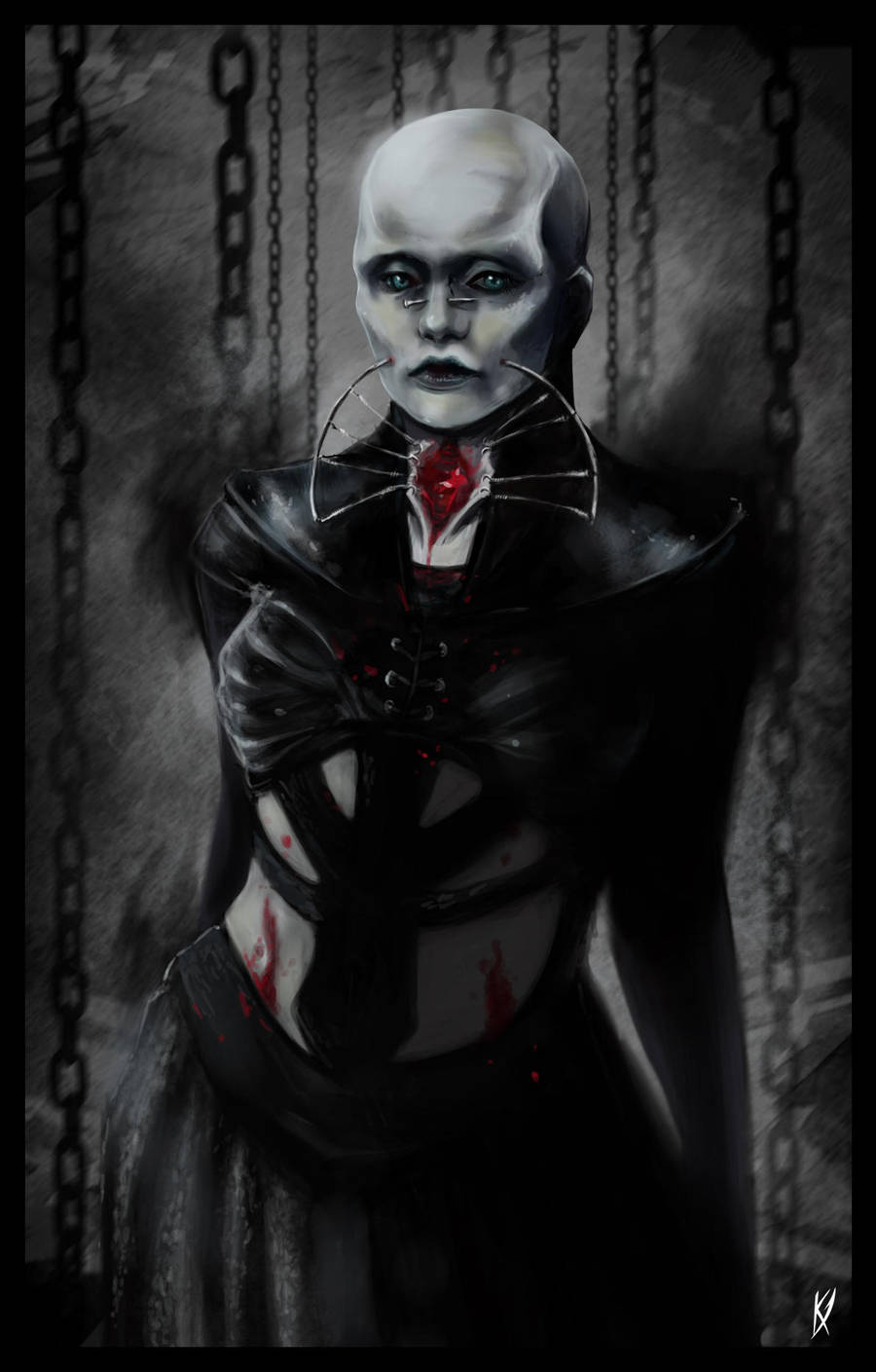 Female Cenobite by Klar-Jezebeth