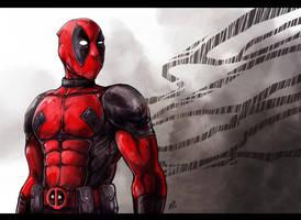 Deadpool by Klar-Jezebeth