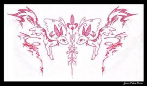 Tattoo tribal Kitty-RedFlash by Paya-Art