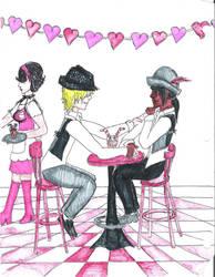 Birthday-valentine art gift by Slothsofdeath