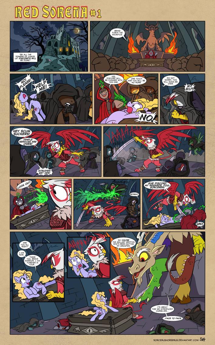 Red Sorena #1 by SorcerusHorserus