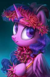 Mokihana Princess by SorcerusHorserus
