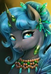 Queen Polistae by SorcerusHorserus
