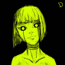greenblackgirl by PezDeGoma