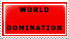 world domination stamp by FlamingKhHeart