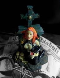 Vampire Figure by AdaEtahCinatas