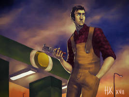 Request - The Mechanic by nickkaur
