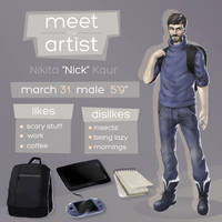 Meet The Artist by nickkaur