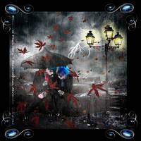 Under My Umbrella--in Frame 3000x3000p 600ppi (c)S by ShawneeDawn