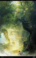 Age of Conan  undying Temple by FangWangLlin