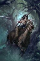 Lara Croft by FangWangLlin