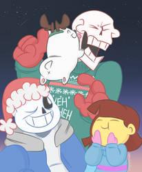 Merry Christmas! by peachskullart