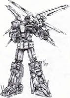 Megazord CORE by WEREsandrock