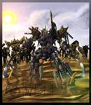 Gundam : Dead idea by WEREsandrock