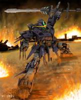 Gundam by WEREsandrock