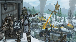 No Rest for the Dragonborn by Thornweaver