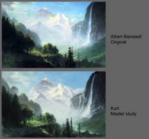 Week 1: Master Study Albert Bierstadt by FirebornForm