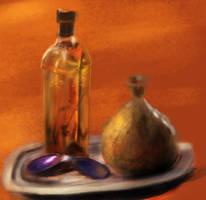 Sketch: Glass (Again) by FirebornForm