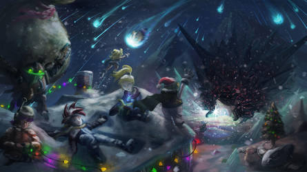 Day of Lavos (Discovering Chrismas) by FirebornForm