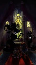 Slithering Shadows by FirebornForm