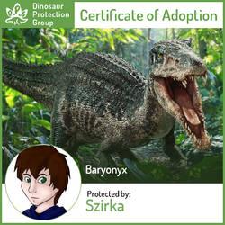 Baryonyx by Szirka