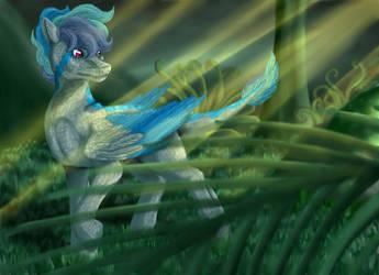 Raptor pony by Szirka