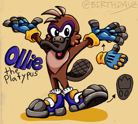 Sonic OC: Ollie by Birthdayz