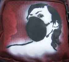 bag stencil by hexphreak