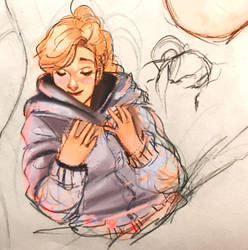 First iPad Sketch by Irukachan