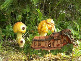 Fairy Starter House by ForestDwellerHouses