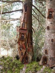 Tree Castle by ForestDwellerHouses