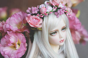 Absynthia in flowers by AyuAna