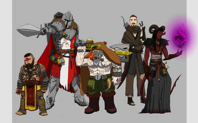 Dungeons and Dragons ( The B Team) by SethEyles