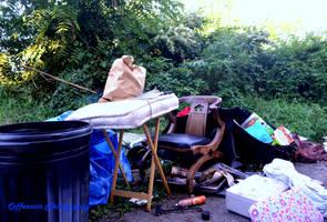 Homeless Camp by coffeenoir