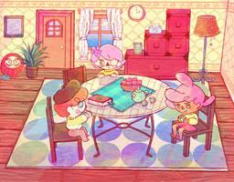 cozy pozy day by xtraZenny