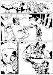 Dredd Violence 1 by JamesKircough