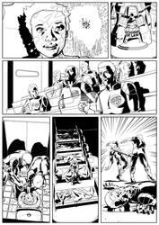 Dredd Violence 2 by JamesKircough