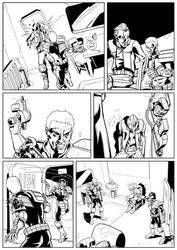 Dredd violence 5 by JamesKircough