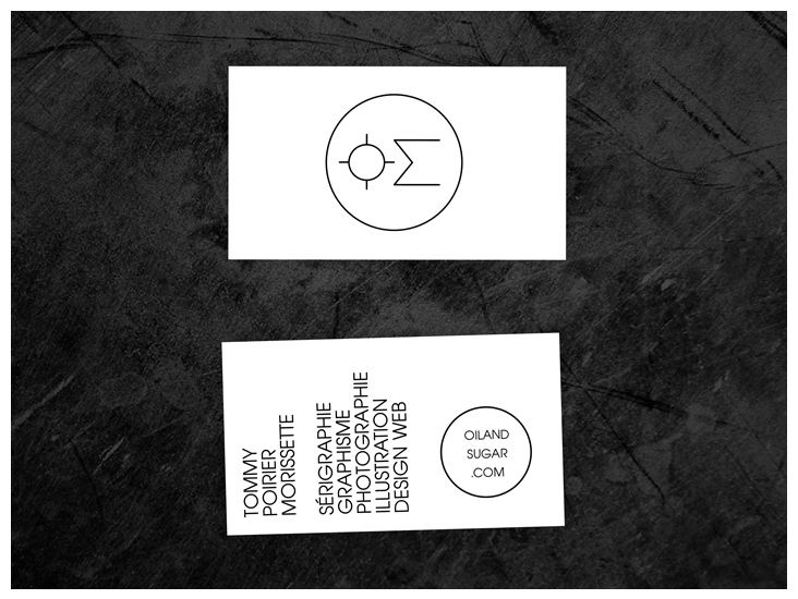oil and sugar business cards by oilandsugar