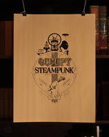 Occupy steampunk print by oilandsugar