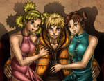 NaruTemaTen: Ladies' Man (Colored Ver) by JuPMod