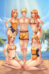 Naruto's Tangerine Ladies (Full-Ver) by JuPMod