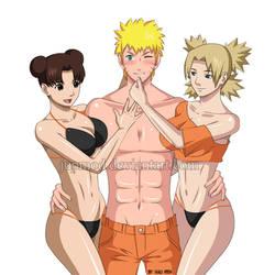 NaruTemaTen: Naruto's Girls (Full-Version) by JuPMod