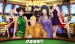 Naruto and The Girls: Casino Night (Full-Ver) by JuPMod