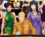 Casino Night: Naruto, Tenten, and Hinata (Closeup) by JuPMod